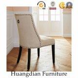 Tela de madera de los muebles del restaurante del estilo simple que cena la silla (HD453)