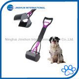 Собака любимчика Pooper Scooper - Pooper Scooper, легкая ручка, сгребалка когтя челюсти, санитарный неныжный ветроуловитель приемистости, большой для крытой/напольной пользы