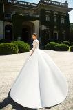 Hochzeits-Kleider der Domiana Prinzessin-Strapless Multilayer mit dem Fishbone