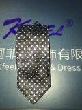 Cravate personnalisée de polyester avec le plein logo