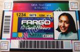 Принтер Eco машины печати головоломки зигзага малый растворяющий для карточки данным по карточки удостоверения личности
