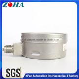 高圧圧力600bar 9000psi正確さ1.0% IP65の液体によって満たされる316Lステンレス鋼の圧力計
