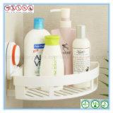 Белый шкаф угла ливня ванной комнаты ABS с чашкой всасывания