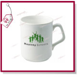 9oz Sublimation Coated Ceramic Sparta Mug mit Square Handle