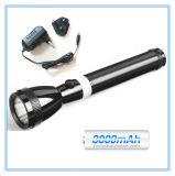 Lampe-torche imperméable à l'eau incassable de la torche 4 In1 rechargeable en aluminium combinée