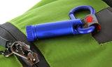 Mini lanterna elétrica pequena azul portátil, lanterna elétrica Multi-Functional