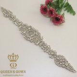 2016의 새로운 모조 다이아몬드 아플리케 손질 DIY 결혼식 부속품 결혼 예복 벨트