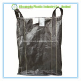 Carbon Black FIBC Bulk Bag with Cross Corner Loop and Dustproof Seam