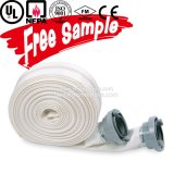 Boyau flexible orienté vers l'exportation d'épreuve d'incendie de caoutchouc nitrile de 7 pouces