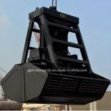 беспроволочный грейферный ковш дистанционного управления 25t для крана на порте
