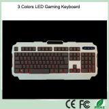 Профессиональный Проводной USB подсветкой СИД Мультимедиа Игровая клавиатура для настольных ПК