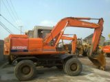 Excavador usado Zx130W/Zx130wd/Zx160W/Ex100wd/Ex160wd de la rueda de Hitachi