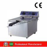Fryer автоматической коммерчески нержавеющей стали таблицы 10L встречный верхний электрический глубокий для Ce Salewith (WF-101)