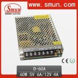 60W 5V12V Dual Output Switching Power Supply (D-60A 5V12V)