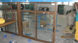 Aluminio barato Windows de desplazamiento del precio