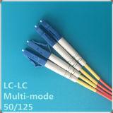 Cordon de connexion à plusieurs modes de fonctionnement de fibre optique du PC Om2 de LC-LC