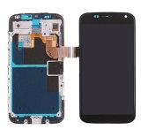 Complessivo telaio dello schermo di tocco dell'affissione a cristalli liquidi per Motorola Moto X