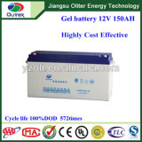12V150ah Solar Gel Battery per Solar Light System