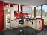 Armadietto della cucina di rivestimento della melammina (SL-L-121)
