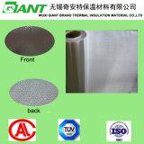 薄板になるアルミホイルのガラス繊維の布