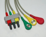 Câble du joncteur réseau ECG de Philips Snap&Clip 3