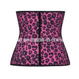 Корсет латекса женщин леопарда