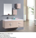 Mdf-Badezimmer-Schrank mit weißer Wanne