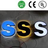 Segni delle lettere di disegno LED dell'OEM grandi, segno acrilico illuminato della lettera della Manica