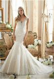 "Vestido de casamento ""sexy"" da noiva da sereia 2017, personalizado"