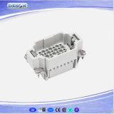 250V 10A 42pin de Op zwaar werk berekende Industriële Contactdoos van de Stop Harting