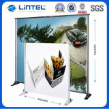 el 10ft Portable Tension Fabric surgir Telescopic Banner Stand (LT-21)