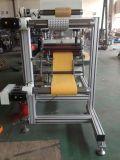 Papier/mousse poinçonnant la machine découpée avec des matrices