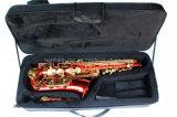 Musique de Hanhai/saxophone rouge d'alto avec la clé d'eb