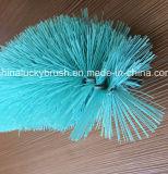 Cepillo de nylon del fregado de las botellas del alambre de la alta calidad (YY-591)