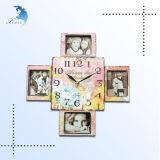 Horloge en bois pour le décor à la maison