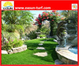 Kosteneffektiver und haltbarer PP+Nonwoven Schutzträger mit 35mm dekorativem Landschaftschemiefasergewebe-Rasen
