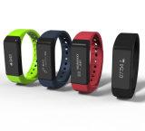 Relógio esperto flexível do Wristband do monitor do sono do perseguidor da atividade