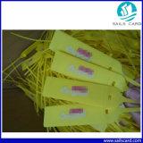 Etiqueta del sello del cable electrónico del PVC UHF RFID
