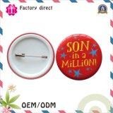 Insignia redonda plástica del botón de la historieta del bebé China Supplier
