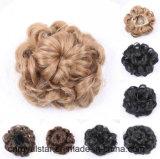 Peruca Kinky natural bonita da cabeça do círculo curto de cabelo Curly