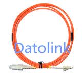 Koord LC/PC-ST/PC mm DuplexLSZH 3.0mm van het Flard van de vezel het Optische