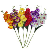 Flor Handmade plástica bonita da tela de seda de flor artificial de China para a decoração