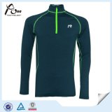 Hochwertiges Men Sport Wear Sports Shirts mit Zipper