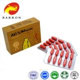 自然な草の赤い余分Abの細いカプセルの食事療法の丸薬
