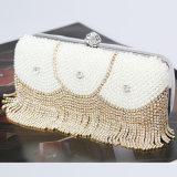 Madame en cristal Handbags de femmes de mode de gland de sacs de soirée de Rhinestone fabriqué à la main