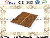 Потолок стены Panel/PVC PVC строительного материала Китая плоский прокатанный для крытого украшения