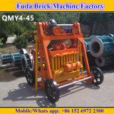 Máquina móvel elétrica do bloco do cimento Qmy4-45 com preço de Reasonbale