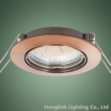 plafond enfoncé par inclinaison en aluminium Downlight de projecteur de 3W GU10 SMD LED