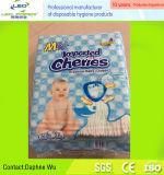 Tecido do bebê do tipo das cerejas