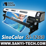 3.2m 1440dpi Large Format DIGITAL Flex Printing Machine--Sj-1260 Ecoの溶媒プリンター